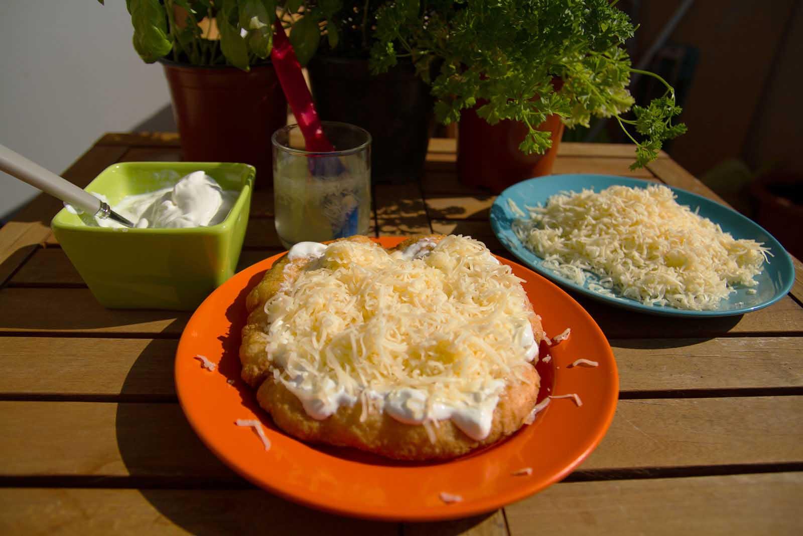 Gluténmentes krumplis lángos