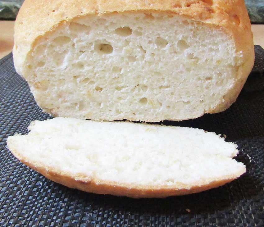 Quinoa pelyhes gluténmentes kenyér