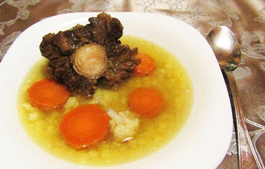Ököruszály leves