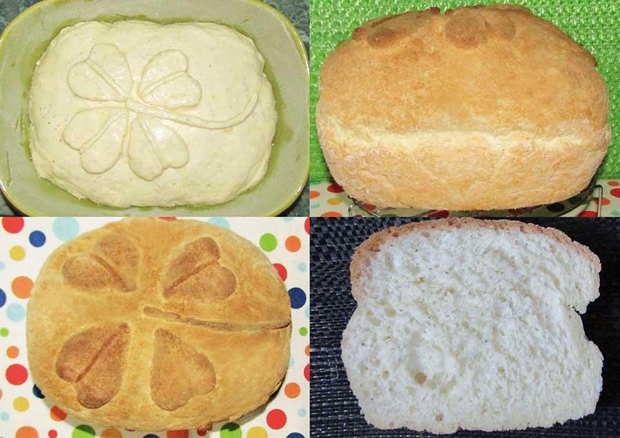 Gluténmentes kenyér puhán és süppedősen