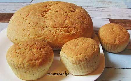 Csicseris-chiás kenyér