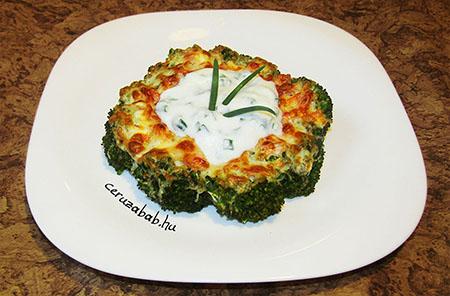 Kalória csökkentett brokkolis egytál'