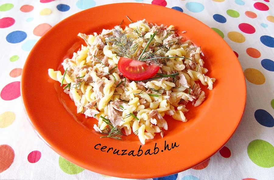 Gyors tonhalas tészta variációk