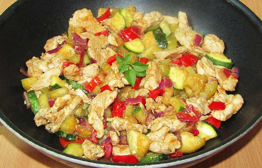 Könnyű, mediterrán csirke