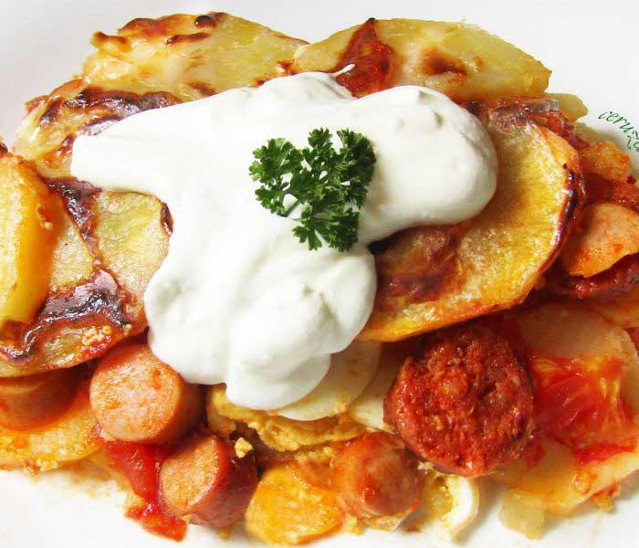 Rakott krumpli variációk