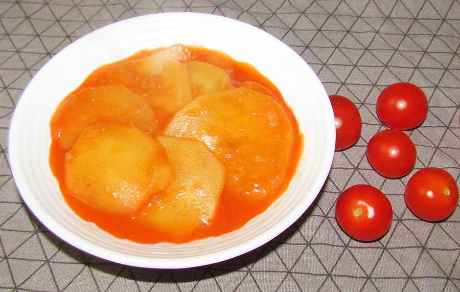 Paradicsomos krumplifőzelék