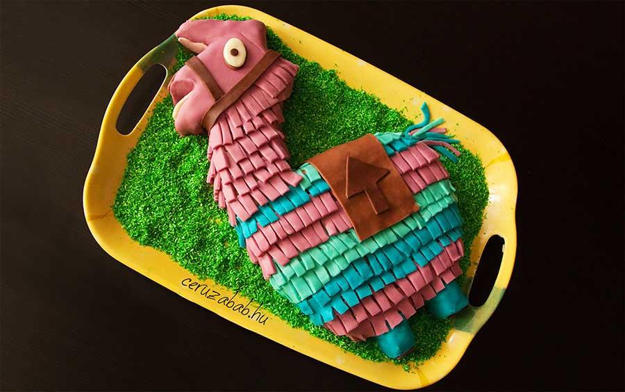 Fortnite Llama torta