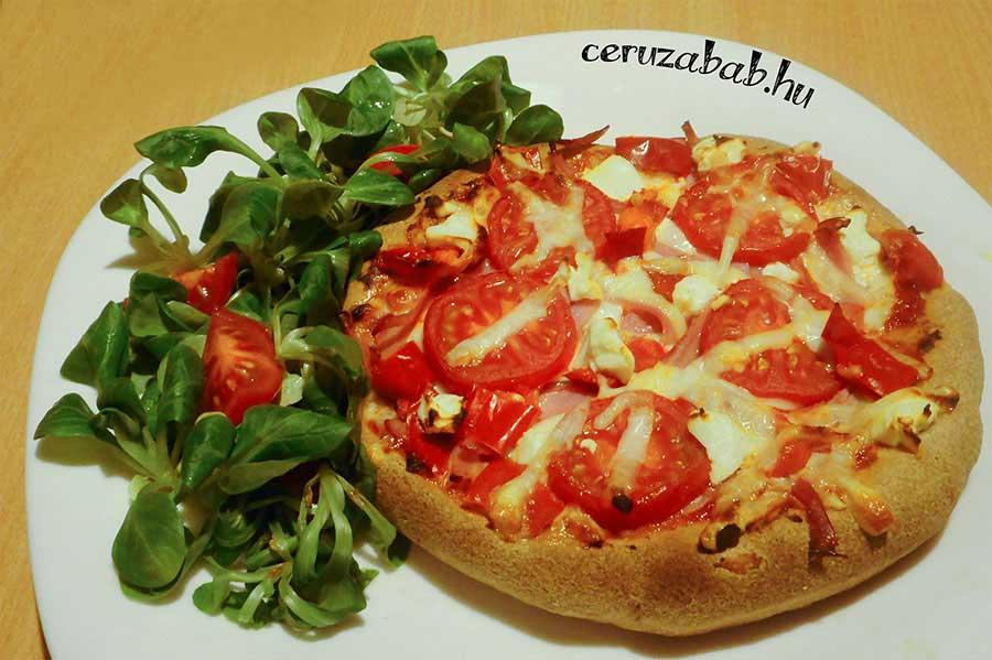 Szénhidrát csökkentett reform (Szafi) pizza