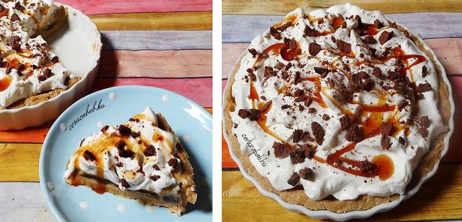 ˙Karamellás-csokis pite-torta