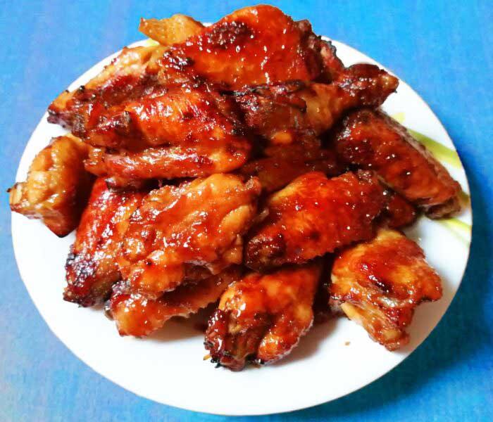 Kínai fűszeres csirkeszárny