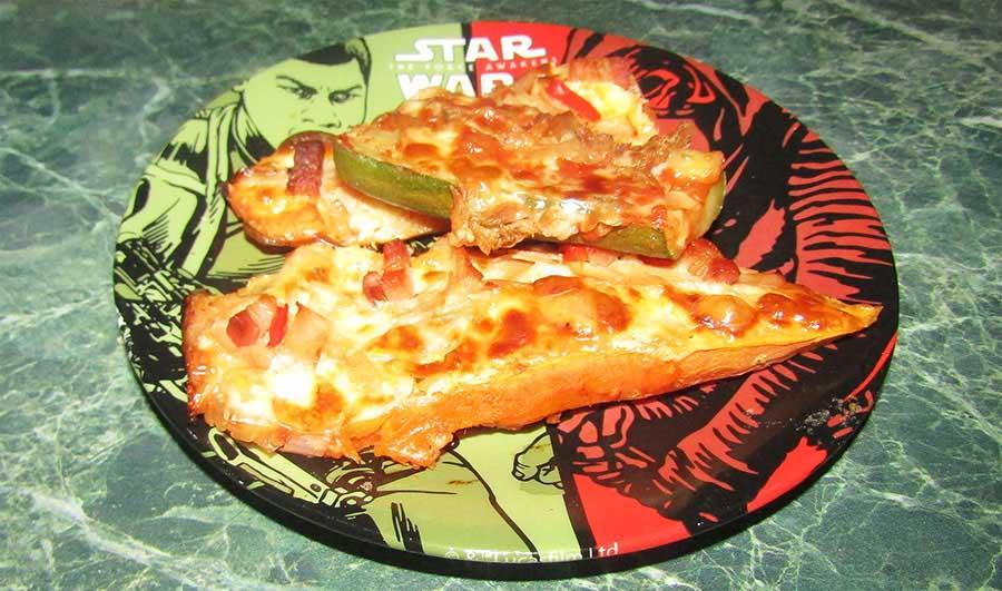 Zöldség pizza, avagy könnyű örömök