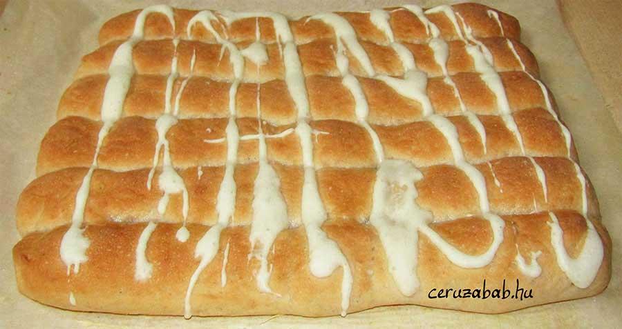 Hatujjas rudak perec tésztából