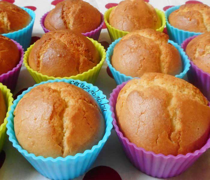 Bodzás muffin (szörpös változat)