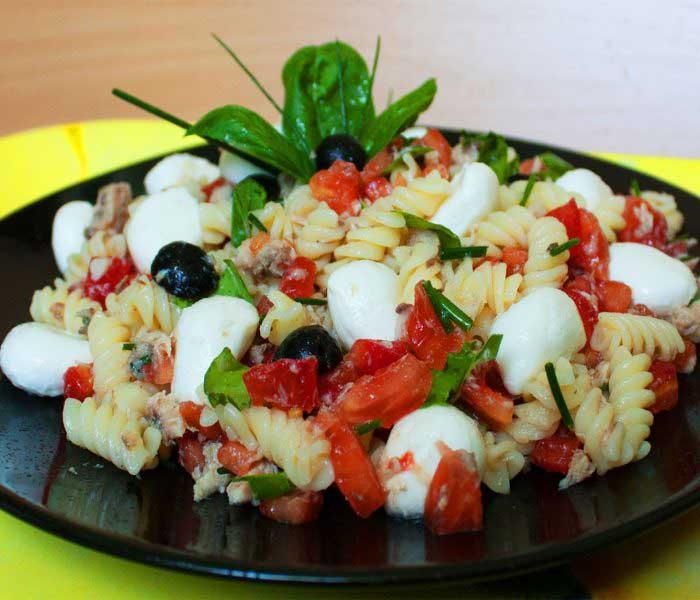 Szicíliai tésztasaláta