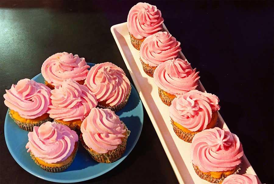 Jól variálható cupcake