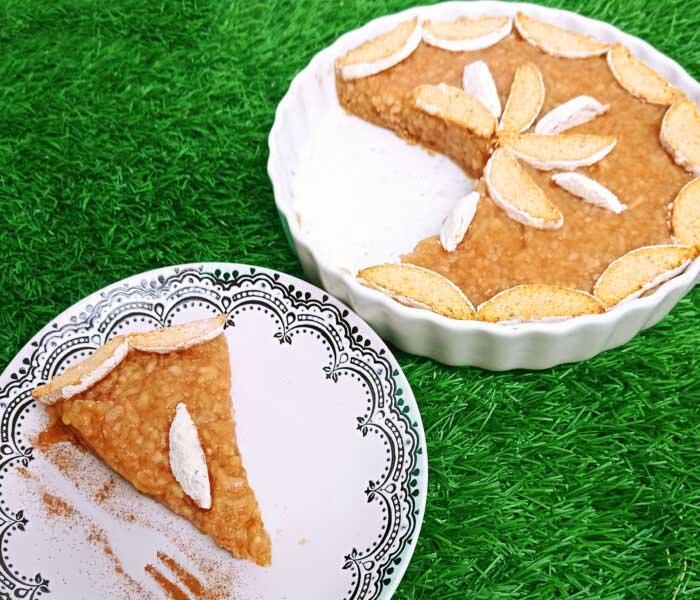 """Mézes puszedlis """"almás pite"""" sütés nélkül"""